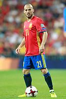 Spain's David Jimenez Silva during FIFA World Cup 2018 Qualifying Round match. September 2,2017.(ALTERPHOTOS/Acero)