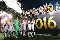 Pasadena, CA - Tuesday June 07, 2016: Colombia  during a Copa America Centenario Group A match between Colombia (COL) and Paraguay (PAR) at Rose Bowl Stadium.