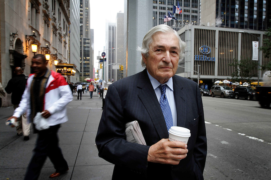 Former World Bank President James Wolfensohn and member of the UN Eminent Persons panel, pictured in New York City.