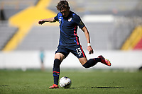 GUADALAJARA, MEXICO - MARCH 18: Samuel Vines #13 of the United States during a game between Costa Rica and USMNT U-23 at Estadio Jalisco on March 18, 2021 in Guadalajara, Mexico.