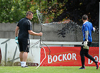 KV Kortrijk : Cedric Berthelin (l)<br /> foto VDB / BART VANDENBROUCKE