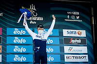 Mads Würtz Schmidt (DEN/Israel Start-Up Nation) wins stage 6 from Castelraimondo to Lido di Fermo (169km)<br /> <br /> 56th Tirreno-Adriatico 2021 (2.UWT) <br /> <br /> ©kramon