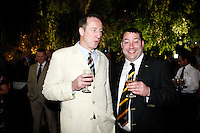 Photo: Richard Lane/Richard Lane Photography. London Wasps in Abu Dhabi for their LV= Cup game against Harlequins on 30st January 2011. 29/01/2011. London Wasps owner, Steve Hayes at the British Embassy.