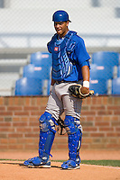 Fernando Cruz #16 of the Burlington Royals at Howard Johnson Stadium June 27, 2009 in Johnson City, Tennessee. (Photo by Brian Westerholt / Four Seam Images)