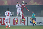Syria vs Vietnam during the AFC U23 Championship China 2018 Group D match at Changshu Sports Center on 17 January 2018, in Changshu, China. Photo by Yu Chun Christopher Wong / Power Sport Images