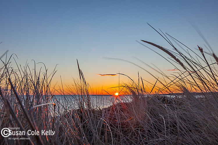 Sunrise on Plum Island, Newburyport, Massachusetts, USA