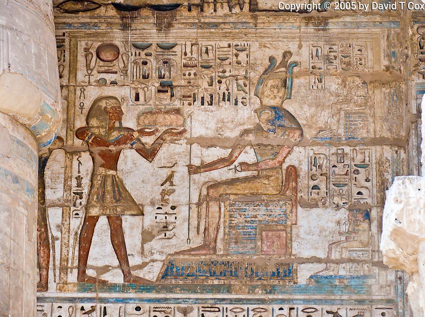 Medinat Habu Temple, Luxor, Egypt
