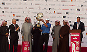 Paul Lawrie is the 2012 Commercial Bank Qatar Masters Champion. The tournament was played over the Championship Course at Doha Golf Club, Doha, Qatar from 2nd to 5th February 2012. Picture Stuart Adams www.golftourimages.com: 5th February 2012