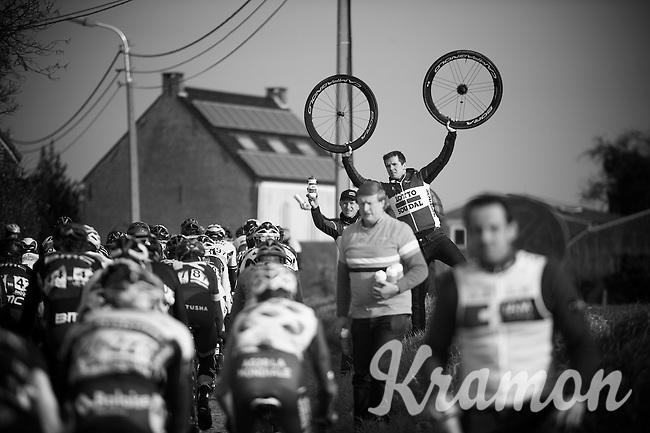 wheels to spare<br /> <br /> 71st Omloop Het Nieuwsblad 2016