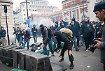 Demo march central london anarchists..Demo violence..pic by Gavin Rodgers/ Pixel 8000.07917221968