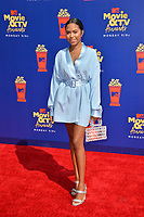 SANTA MONICA, USA. June 16, 2019: Cheyenne Floyd at the 2019 MTV Movie & TV Awards at Barker Hangar, Santa Monica.<br /> Picture: Paul Smith/Featureflash