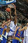 MADRID, Spain (22/01/11). Liga ACB de baloncesto, jornada 18, Real Madrid vs Asefa Estudiantes. Caja Magica...D´or Fischer...©Raul Perez .