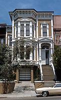 San Francisco: House, California St. Italianate, 1870's.   Photo '78.