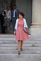 Marisol Touraine ( ministre des Affaires sociales et de la Sante ) .Parigi 22/8/2012.Consiglio dei Ministri.Foto Insidefoto / Christian Liewig / FEP / Panoramic.ITALY ONLY