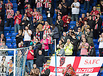 St Johnstone v Sunderland…15.07.17… McDiarmid Park… Pre-Season Friendly<br />The Sunderland fans lead the applause in memory of Bradley Lowery<br />Picture by Graeme Hart.<br />Copyright Perthshire Picture Agency<br />Tel: 01738 623350  Mobile: 07990 594431