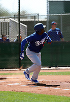 Starling Heredia - Los Angeles Dodgers 2018 spring training (Bill Mitchell)