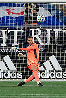 FOXBOROUGH, UNITED STATES - AUGUST 20: Matt Turner #30 of New England Revolution during a game between Philadelphia Union and New England Revolution at Gilette on August 20, 2020 in Foxborough, Massachusetts.