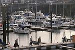 St Helier yacht basin Jersey, The Channel islands UK. 2000s