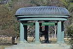 Jan.21, 2013 - Hot Springs, Arkansas, U.S -  The famous gazebo at Oaklawn Park.  (Credit Image: © Jimmy Jones/Eclipse/ZUMAPRESS.com)
