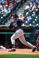 Scranton/Wilkes-Barre RailRiders right fielder Aaron Judge (99) at bat during a game against the Buffalo Bisons on July 2, 2016 at Coca-Cola Field in Buffalo, New York.  Scranton defeated Buffalo 5-1.  (Mike Janes/Four Seam Images)