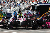 #27 Alexander Rossi, Andretti Autosport Honda, pit stop