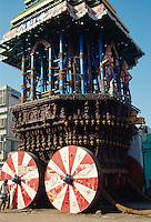 Indien, Kanchipuram (Tamil Nadu), Tempelwagen
