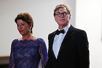 Robert Redford .Cannes 22/5/2013 .66mo Festival del Cinema di Cannes 2013 .Foto Panoramic / Insidefoto .ITALY ONLY