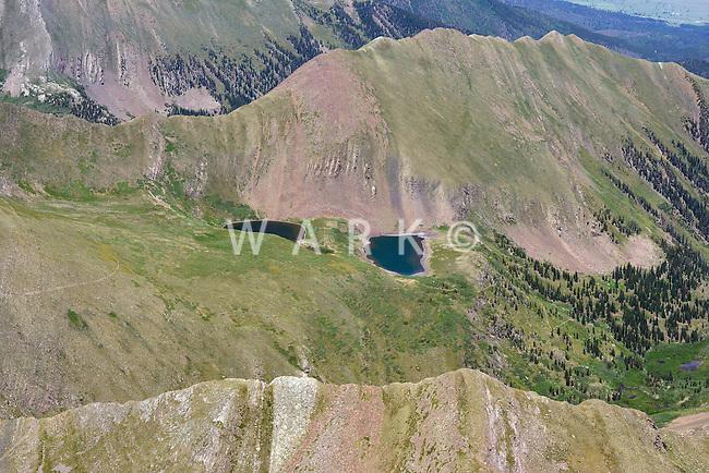 Venable Lakes, Colorado.  West of Westcliffe, Colorado.  July 13, 2013.  89869