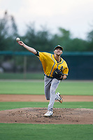 AZL Athletics starting pitcher James Naile (47) delivers a pitch during a rehab start against the AZL White Sox on July 20, 2017 at Camelback Ranch in Glendale, Arizona. AZL Athletics defeated the AZL White Sox 5-2. (Zachary Lucy/Four Seam Images)
