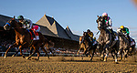 AUG 24: The field fro the Travers Stakes races at Saratoga Racecourse in New York on August 24, 2019. Evers/Eclipse Sportswire/CSM