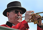 11 February 05: Wally the Bugler at Gulfstream Park in Hallandale Beach, Florida on Donn Handicap Day.  (Bob Mayberger/Eclipse Sportswire)
