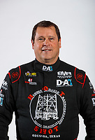 Feb 5, 2020; Pomona, CA, USA; NHRA top fuel driver Shawn Reed poses for a portrait during NHRA Media Day at the Pomona Fairplex. Mandatory Credit: Mark J. Rebilas-USA TODAY Sports