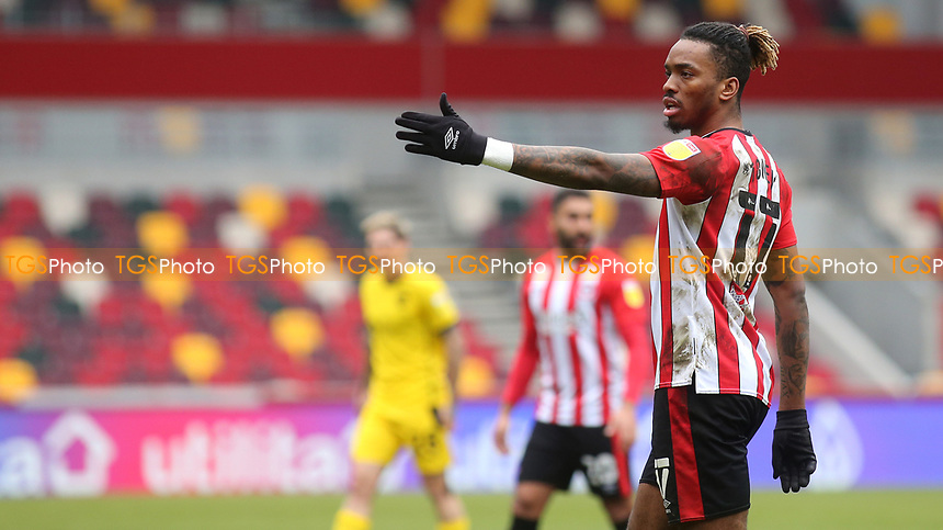 Ivan Toney of Brentford during Brentford vs Barnsley, Sky Bet EFL Championship Football at the Brentford Community Stadium on 14th February 2021
