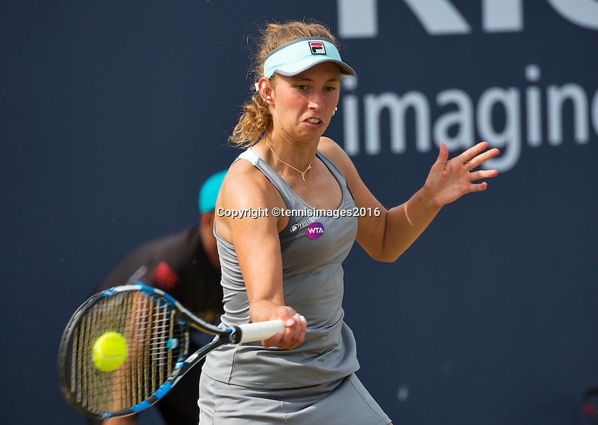 Den Bosch, Netherlands, 10 June, 2016, Tennis, Ricoh Open, Elise Mertens (BEL)<br /> Photo: Henk Koster/tennisimages.com