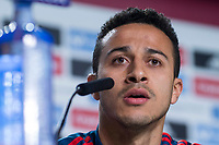 Spain coach Thiago Alcantara during press conference the day before Spain and Argentina match at Wanda Metropolitano in Madrid , Spain. March 26, 2018. (ALTERPHOTOS/Borja B.Hojas) /NortePhoto NORTEPHOTOMEXICO