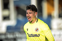 9th January 2021; Kenilworth Road, Luton, Bedfordshire, England; English FA Cup Football, Luton Town versus Reading; Luke Southwood (Reading Goalkeeper) shouts instructions to his defense