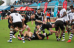 Maori All Blacks vs. Fiji. Suva. MAB's won 27-26. July 11, 2015. Photo: Marc Weakley