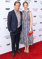 HOLLYWOOD, LOS ANGELES, CA, USA - JULY 14: Nat Faxon, Judy Greer at the Los Angeles Premiere Of FX's 'You're The Worst' And 'Married' held at Paramount Studios on July 14, 2014 in Hollywood, Los Angeles, California, United States. (Photo by Xavier Collin/Celebrity Monitor)