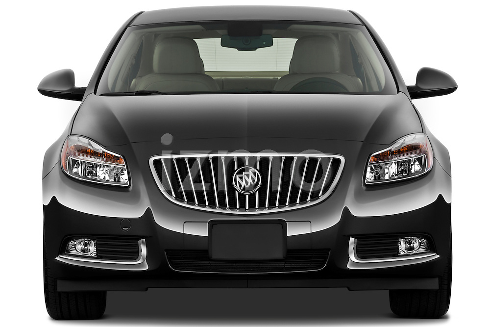 Straight front view of a 2011 Buick Regal CXL Sedan