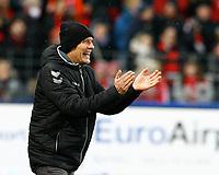 Christian STREICH, Trainer SCF, Halbkoerper, Coachingzone,   ,  Fussball, 1. Bundesliga  2017/2018<br /> <br />  <br /> Football: Germany, 1. Bundesliga, SC Freiburg vs Bayer 04 Leverkusen, Freiburg, 03.02.2018 *** Local Caption *** © pixathlon<br /> Contact: +49-40-22 63 02 60 , info@pixathlon.de