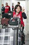 Wendy Morgan, Sochi 2014.<br /> Team Canada arrives at the airport in Sochi for the Sochi 2014 Paralympic Winter // Équipe Canada arrive à l'aéroport de Sotchi pour Sochi 2014 Jeux paralympiques d'hiver. 03/03/2014.