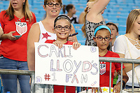 CHARLOTTE, NC - OCTOBER 3: Fans during a game between Korea Republic and USWNT at Bank of America Stadium on October 3, 2019 in Charlotte, North Carolina.