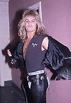 Vince Neil of Motley Crue in Hollywood in March 1986.