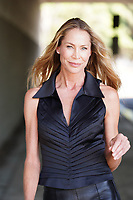 Kathleen Kinmont Spotted At Office In Hollywood