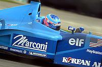 Jenson Button (#8 Benetton)