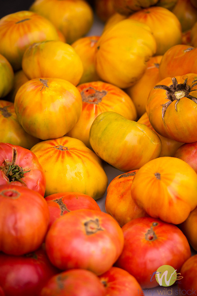 Southland Farmers Market. Heirloom tomatoes