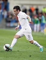 France's national team Mathieu Valbuena during match. October 16, 2012. (ALTERPHOTOS/Alvaro Hernandez) /NORTEPhoto