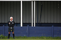 A match official is seen during the Hackney Gazette Cup Final at Leyton Football Club - 20/04/08 - MANDATORY CREDIT: Gavin Ellis/TGSPHOTO - Self billing applies where appropriate - Tel: 0845 094 6026