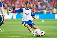 Spain's Marco Asensio during match between Spain and Italy to clasification to World Cup 2018 at Santiago Bernabeu Stadium in Madrid, Spain September 02, 2017. (ALTERPHOTOS/Borja B.Hojas)