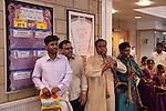 Hindu Hindu puberty coming of age party, Mitcham London 2016